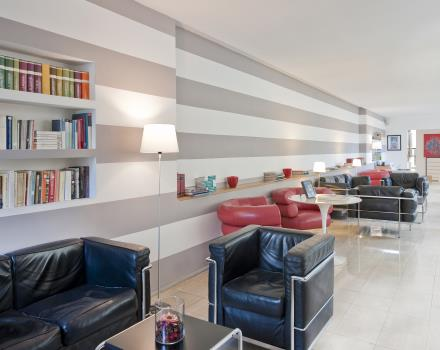 Lobby e area lounge - Best Western Ars Hotel Roma 3 stelle