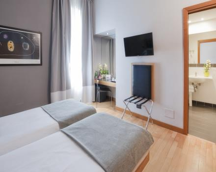Le camere - Best Western Ars Hotel Roma 4 stelle